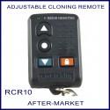 Fixed Code garage door & gate remote cloning remote control RCR10