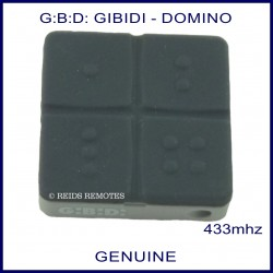 Gibidi (G:B:D) Domino DTS 4334 garage and gate remote