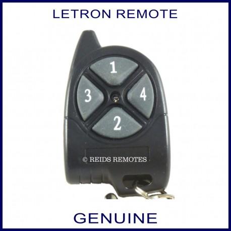 Letron 4 button gate remote control
