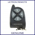 Letron 4 button garage door and gate remote control