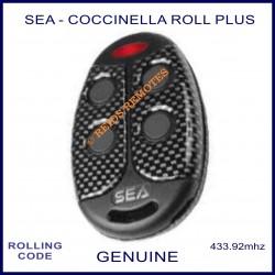SEA Coccinella Roll Plus - 4 button carbon look gate remote