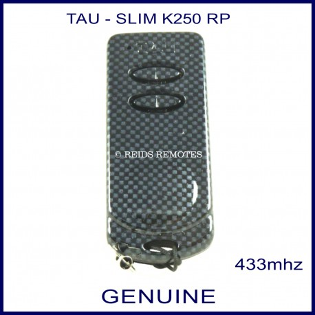 TAU 250K-Slim RP 2 button gate remote