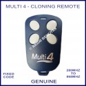 Multi 4 - nose to nose fixed code cloning remote