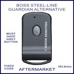 Boss Steel-Line Guardian 1 grey button alternative remote