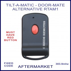 Tilt-A-Matic or Door-Mate 1 red button alternative remote