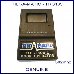 Tilt-A-Matic Electronic Door Operator with 1 navy blue button
