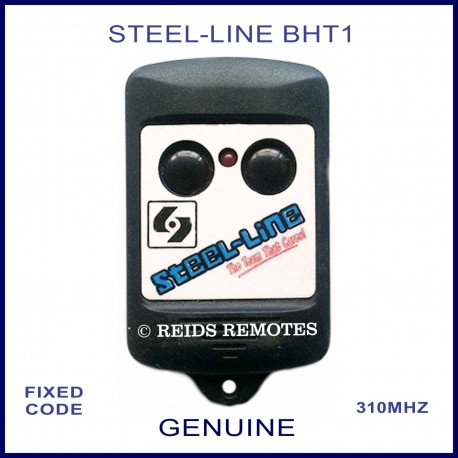 Steel Line Bht1 2 Round Button Black Fixed Code Garage