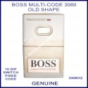 BOSS Multi-Code 3089 OLD shape 1 button remote