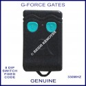 G-FORCE 2 blue button 330Mhz 8 dip switch remote