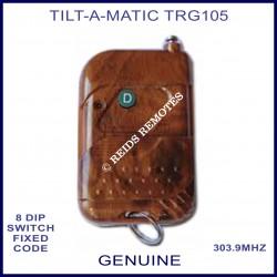 Tilt-A-Matic TRG105 1 button 303Mhz woodgrain remote