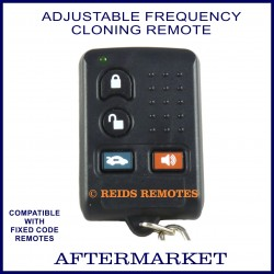 Fixed Code Car Alarm Keyless Entry Cloning Remote RCR10