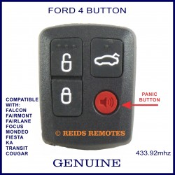 Ford BA / BF Falcon 4 button remote