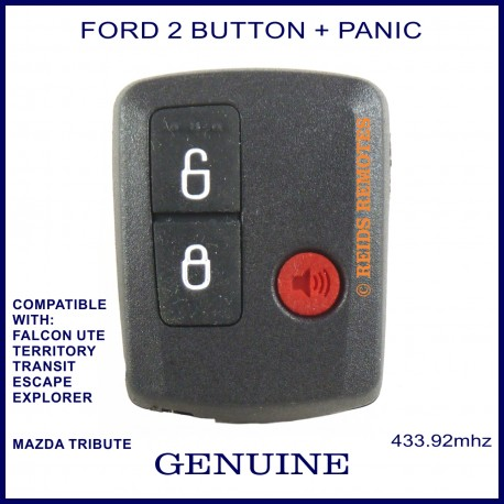 Ford Falcon Ute Transit Escape Explorer Genuine 3 Button Remote