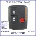 Ford 3 button remote for FALCON Ute, Territory, Escape, Transit