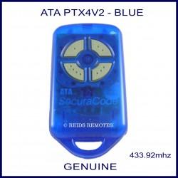 ATA PTX4V2 - SECURACODE BLUE REMOTE