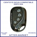 Centsys Nova compatible 4 button gate remote RRPC304