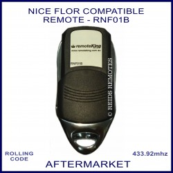 Nice Flor compatible 4 button garage & gate remote RNF01B