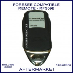 Foresee compatible 4 button garage remote RFS09B