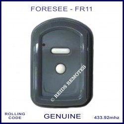 Foresee FR11 2 button grey garage door wall remote