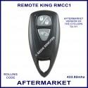 Remote King RMCC1 2 grey button car alarm remote control