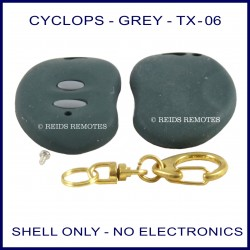 Cyclops TX-06 kidney shape remote replacement shell ONLY