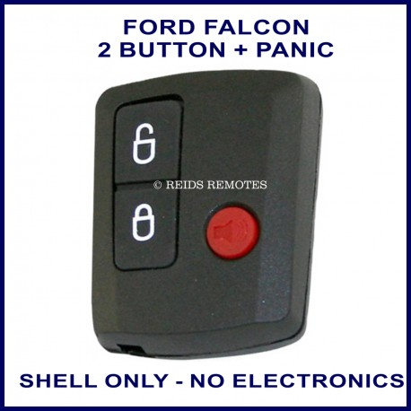 Ford Falcon BA BF 3 button remote SHELL ONLY
