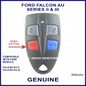 Ford Falcon AU2 & AU3 4 button genuine remote control
