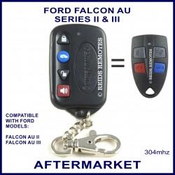 Ford Falcon AU2 & AU3 4 button after market slim remote control