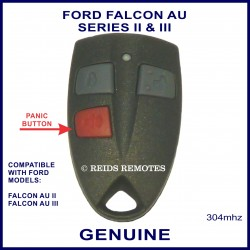 Ford Falcon Ute AU2 & AU3 3 button genuine remote control