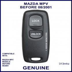 Mazda MPV models before 2001 2 button genuine remote control