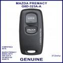 Mazda Premacy G8D-323A-A, 2 button genuine remote control