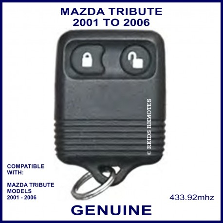 Mazda Tribute 2001 - 2006, 2 button genuine remote control