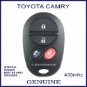 Toyota Camry 2006 - 2011 4 button genuine remote control