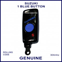 Suzuki obsolete 1 blue button black remote control