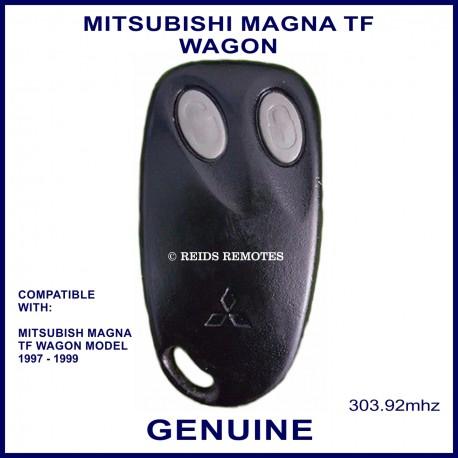 Mitsubishi Magna TF & Verada KF wagon 2 grey button genuine remote