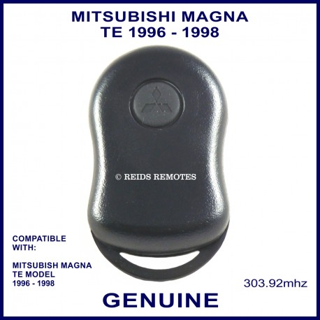 Mitsubishi Magna TE  1 black button genuine remote