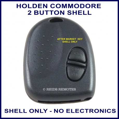 Holden Commodore VR to VZ 2 button remote key SHELL ONLY