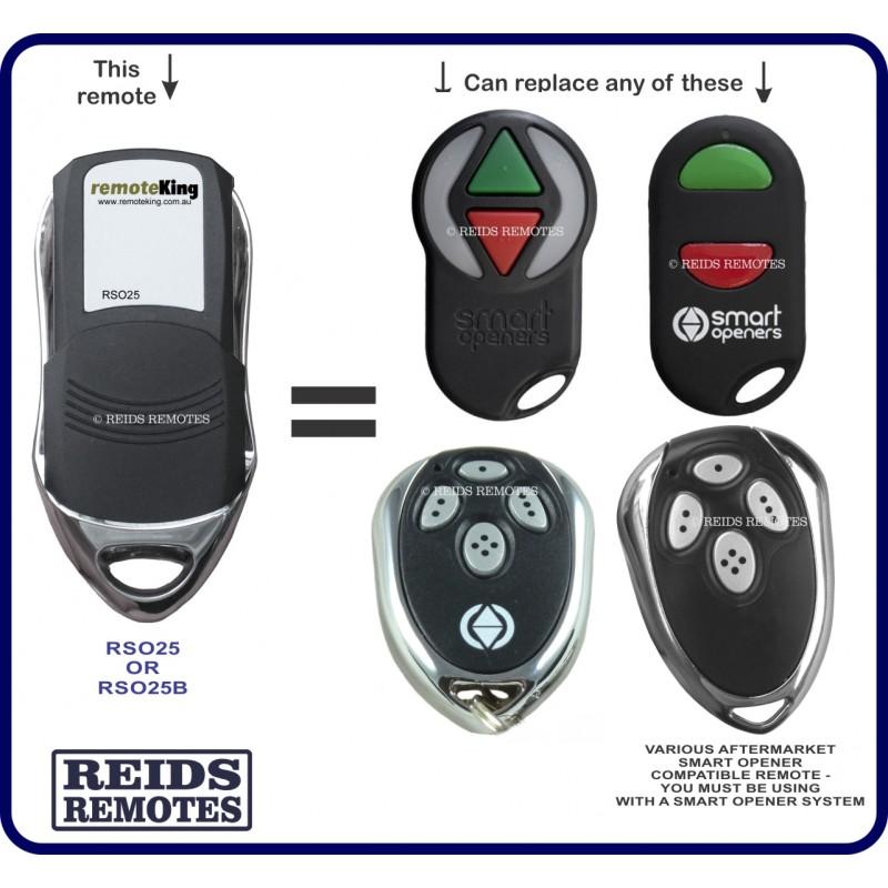 Smart Opener 4s White Red Amp Green Button Garage Door
