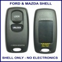 Ford Visteon Models 2 button replacement SHELL ONLY