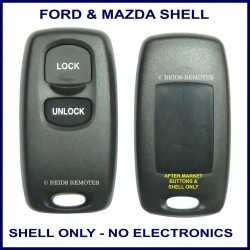 Mazda Visteon Models 2 button replacement SHELL ONLY