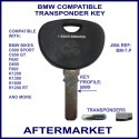 BMW motorcycles compatible key with transponder cloning & key cutting