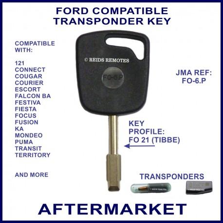 Ford Ba Falcon Mondeo Focus Transit Territory Car Key Cut Cloned