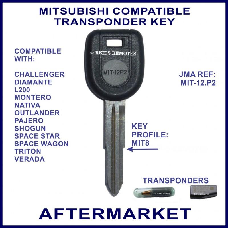 Mitsubishi Pajero Space: Mitsubishi Challenger Triton Pajero L300 Express Car Key