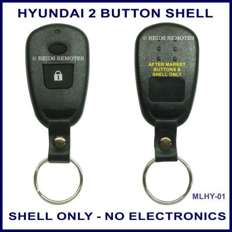 Hyundai Santa Fe Trajet or Elantra remote replacement SHELL ONLY