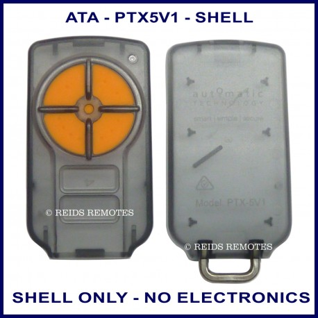 Ata Ptx5 Garage Door Remote Replacement Shell Only With