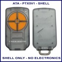 ATA PTX-5V1 4 orange button garage remote replacement shell ONLY
