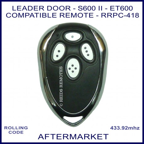 Leader Door Sectional Garage Door Compatible Remote