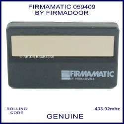 Firnanatic by Firnadoor 059409 433MHz visory clip remote