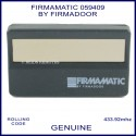 Firmamatic by Firmadoor 059409 433MHz sun visor garage door remote
