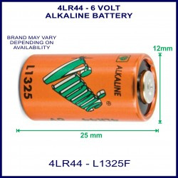 Vinnic 4LR44 6V Alkaline high voltage battery for use in remote control